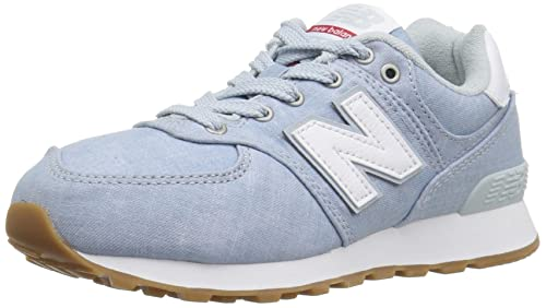 newest c48e1 51681 New Balance Kids' 574v1 Beach Chambray Sneaker