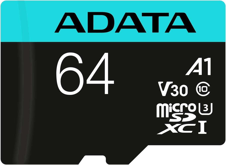 Tarjeta microSDXC/SDHC Adata Premier Pro de 64GB por 14,81€