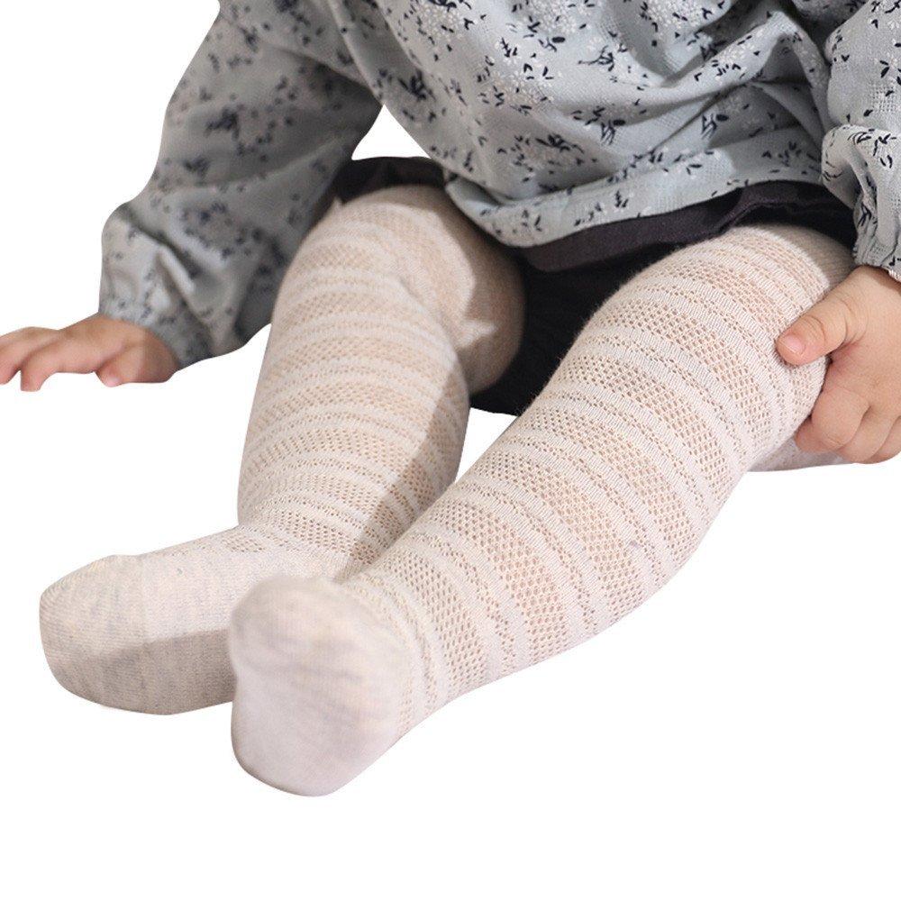 Fille Chaussettes-Collants Bas en Coton Solide Creux Sur Les Chaussettes Respirant Pour Bébé Bambins-Mounter Prix a Partir de Constructeur Chéri de Mode-001