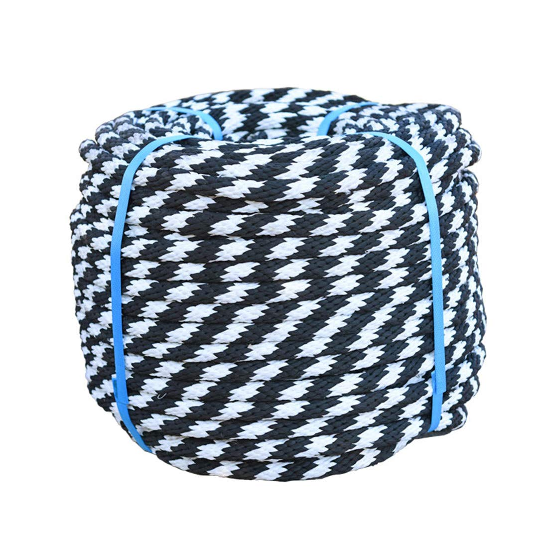 Nylon Truck Car Tow Rope Straps Heavy Load Uses Twisted Synthetic Rope Weather Resistant Crafts DIY Projects Towing Dock Lines Industrial Grade