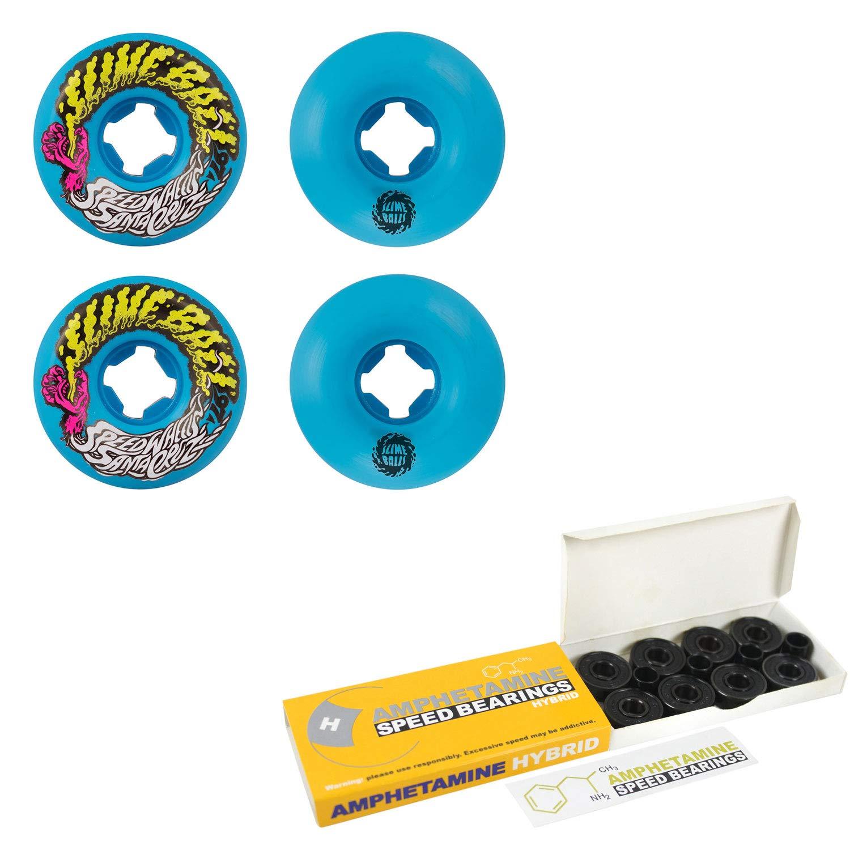 (訳ありセール 格安) Santa Cruz スケートボードホイール ハイブリッドセラミックベアリング 53mm Vomit Cruz 53mm Mini Vomit ブルー B07NQR2FFH, エアコン専門店エアコンのマツPLUS:59550ca1 --- mvd.ee
