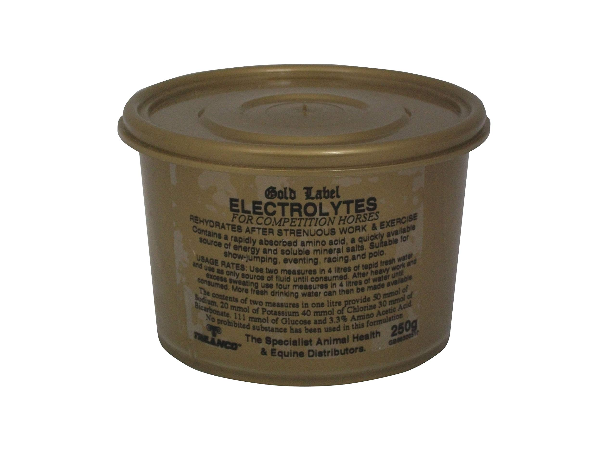 Electrolytes For Competition Horses - 250g By Gold Label