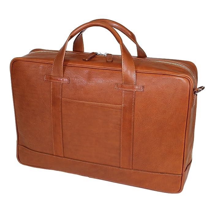 Terrida Marco Polo maleta en piel - LE111 (Cuoio): Amazon.es: Equipaje