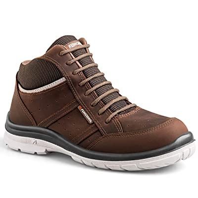 FUNCIONAL Men's Frontier Aluminum Toe Ultra-Lightweight Work Boot | Industrial & Construction Boots