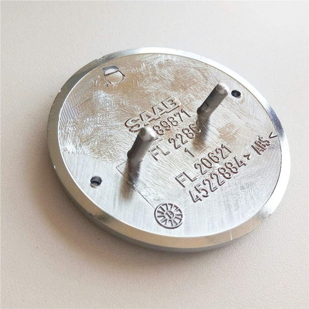 FTC 1 st/ück f/ür saab 9-3 9000 900 Resin Domed Motorhaubenabzeichen nagelneues Teil 4522884 Blau
