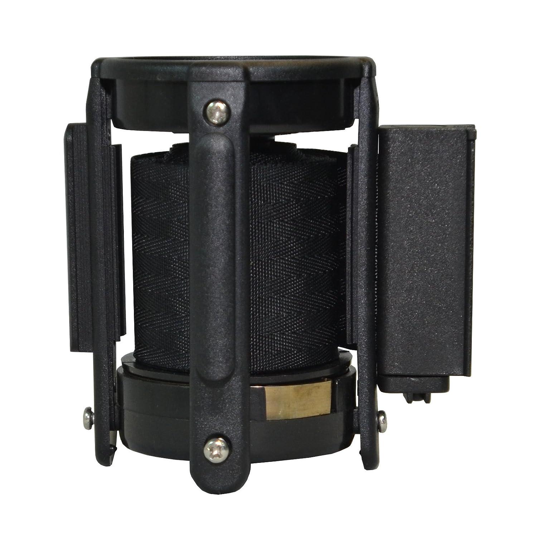 13, Black Replacement Belt Head Cassette for Retractable Belt Stanchion