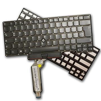 Teclado para IBM Lenovo ThinkPad X1 Carbon 2015 Keyboard Alemán GS85 con iluminación: Amazon.es: Informática