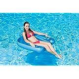 Poolmaster 85598 Paradise Chair Swimming Pool Float,Blue