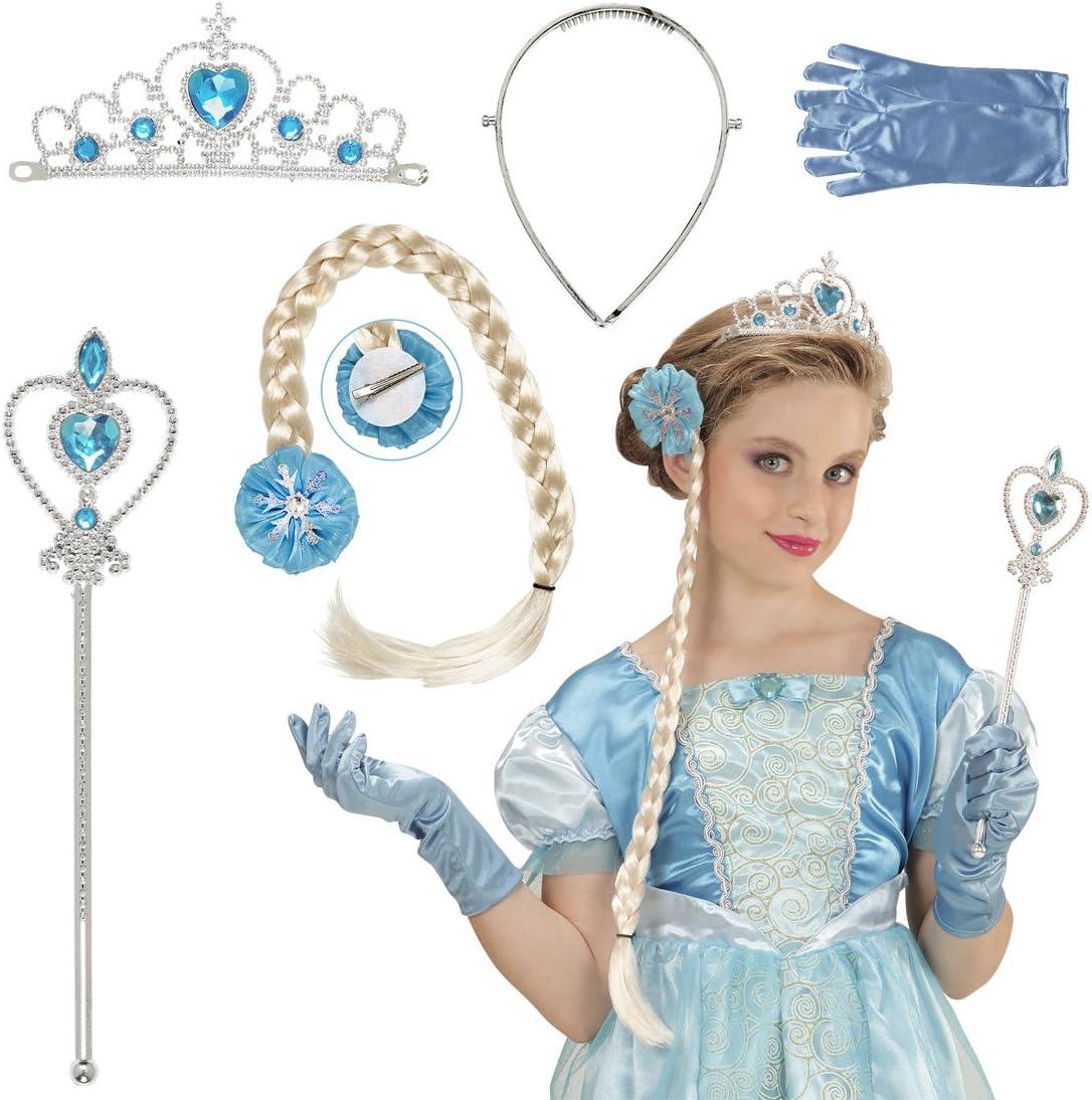 Accesorios niña reina de la nieve Complemento disfraz princesa de ...