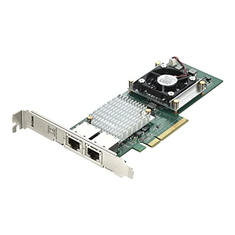 Amazon.com: D-Link Dual Port 10GBASE-T RJ45 PCI Express ...