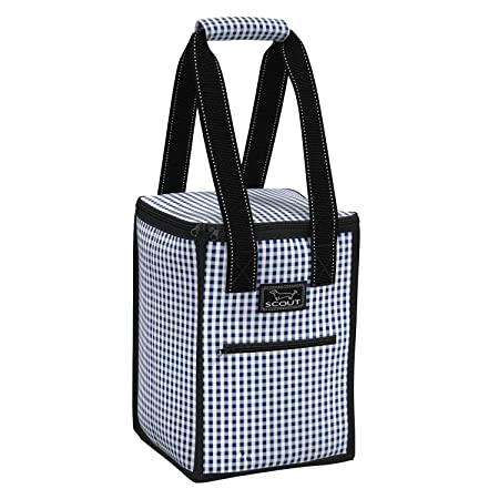 SCOUT Pleasure Chest Soft Cooler, 4 Bottle Wine Cooler Bag, Water Resistant Insulated Soft Cooler Tote with Zipper Closure Multiple Patterns Available