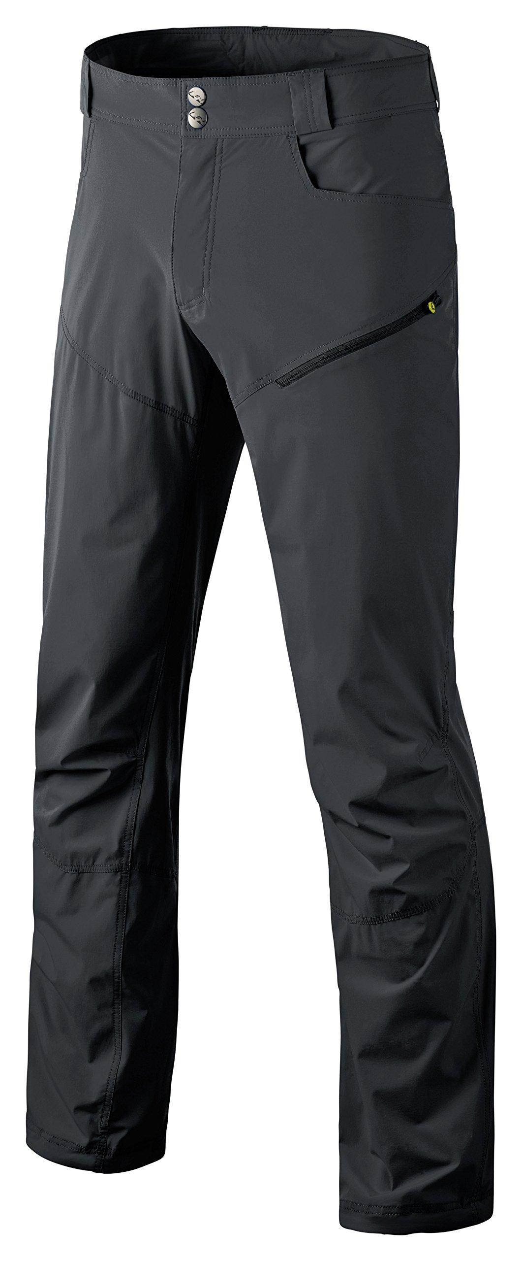 Dynafit Men's Traverse Dura Stretch Pants, Asphalt, Large by Dynafit