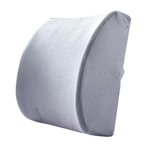 Amazon.com: Cojín de Memory Foam lumbar, Sannysis Travel ...