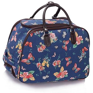 Ladies Travel Bags Holdall Womens Hand Luggage Horse Print Bag ...