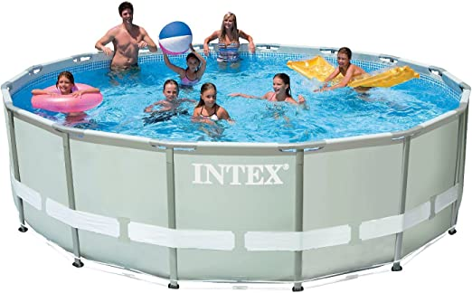 Intex 28322 - Piscina Redonda de 488 x 122 cm: Amazon.es: Jardín
