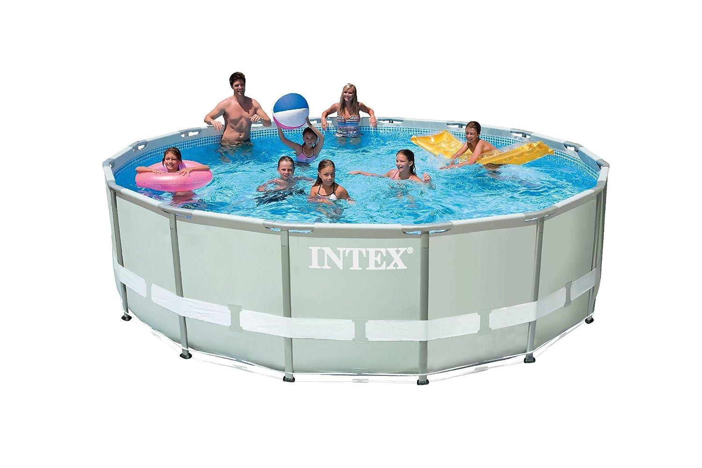 Intex 28322 Frame Pool Set Ultra Rondo, Durchmesser 488 x 122 cm ...