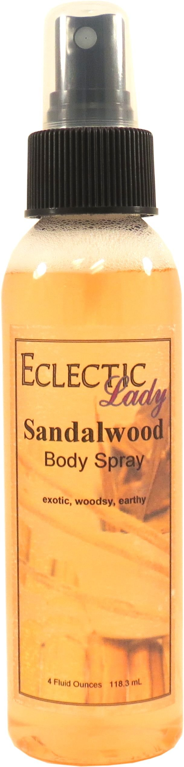 Sandalwood Body Spray, 4 ounces