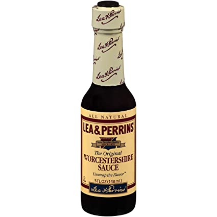 Lea & Perrins Worcestershire Salsa (5 onzas, paquete de 24): Amazon.com: Grocery & Gourmet Food