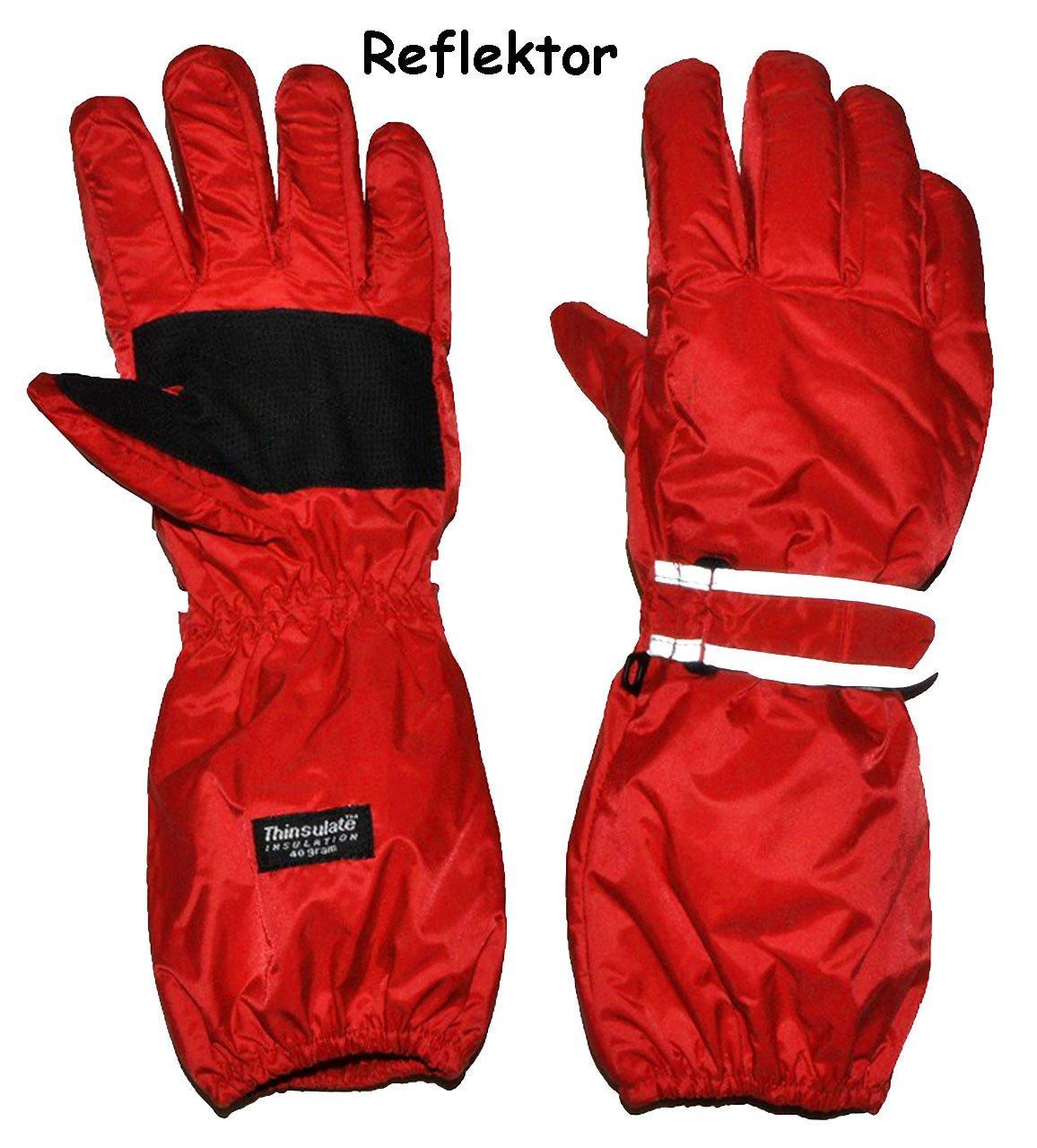 Thermohandschuhe / Fingerhandschuhe - mit langem Schaft -