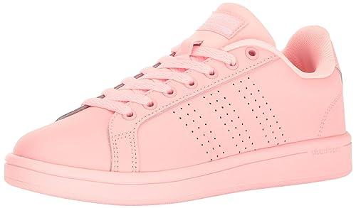 Adidas 5 6 Cloudfoam Rosa Zapatillas Clean Mujer Us Advantage 1TY1Aczwqr