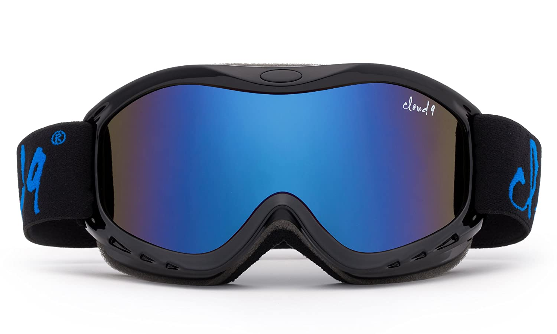 fe36ac3c5a3d Amazon.com   Cloud 9 - Kids Boys   Girls Professional Ski Goggles Anti-Fog  UV400 Protection Wind Proof Dual Lens Triple Face Foam Winter Snow Goggles  with ...