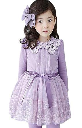 a7a9b9b9d4 EGELEXY Girls Toddler Princess Long Sleeve Tulle Tutu Mini Dress size  2-3T Tag100