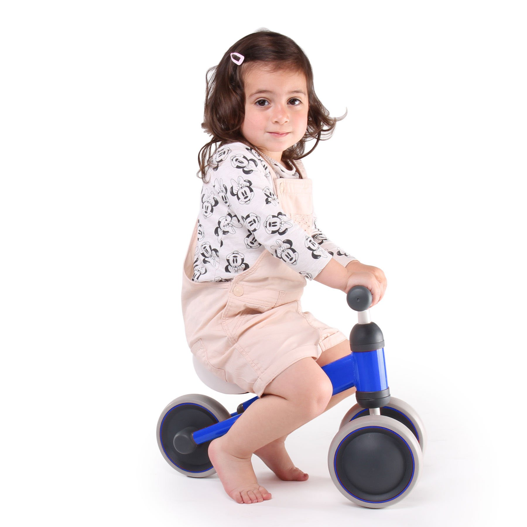 YesIndeed.. Baby Balance Bike, Mini Bike, Bicycle for children, 10-28 Months Toddler Tricycle Learn to Walk and Keep Balance. Boys and Girls Blue and Red. 4 YEARS WARRANTY