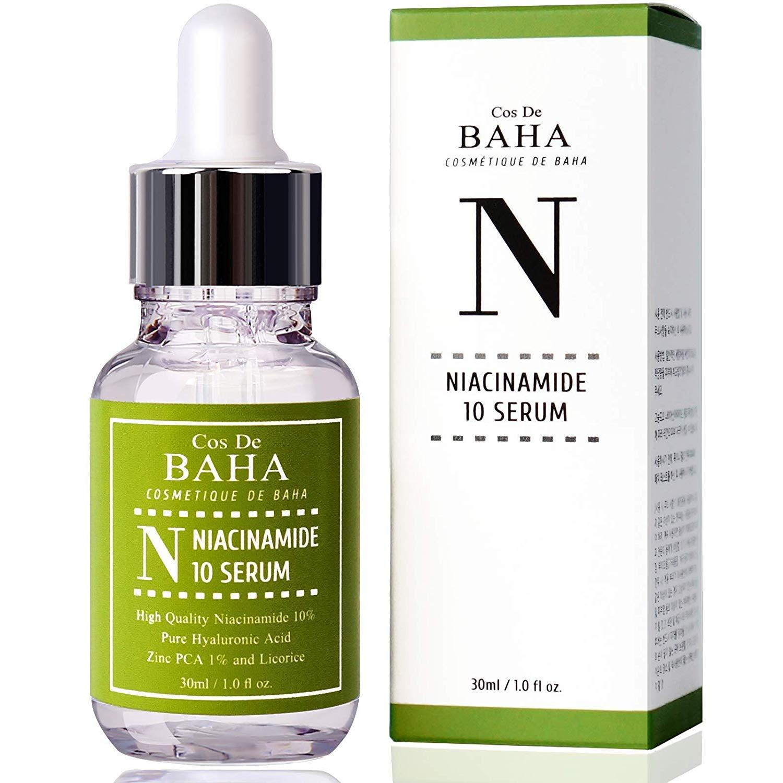Niacinamide 10% + Zinc 1% Serum for Face - Pore Reducer + Vitamin B3 for Brightening + Uneven Skin Tone Treatment + Diminishes Acne Prone, Korean Skin Care (1OZ): Beauty