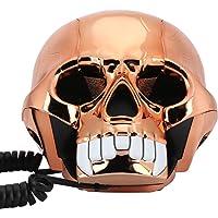 Teléfono fijo de moda, innovador, divertido, teléfono de Halloween, teléfono portátil para el hogar, teléfono con cable…