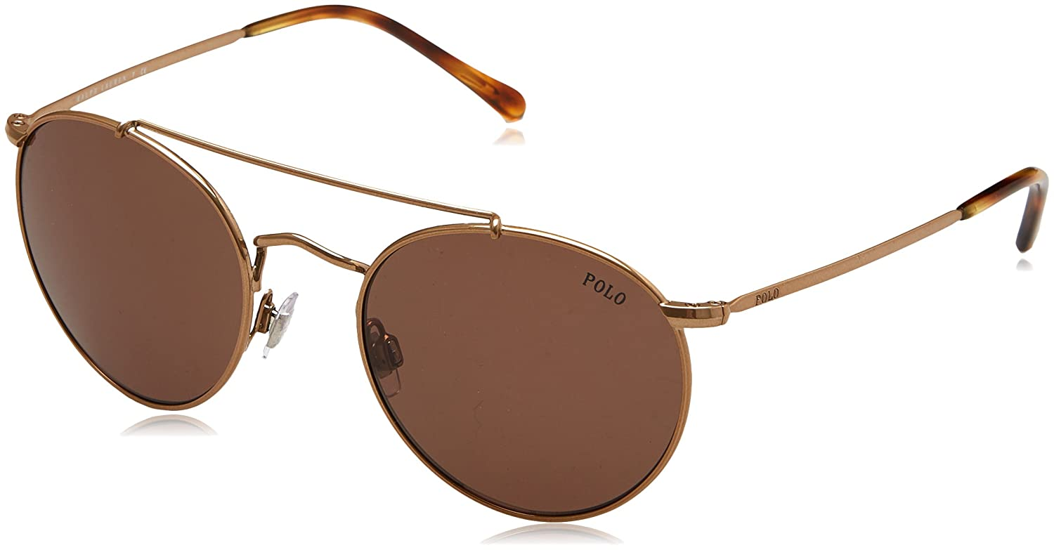 Ralph Lauren POLO 0PH3114 Gafas de sol, Dark Rose Gold, 51 para ...
