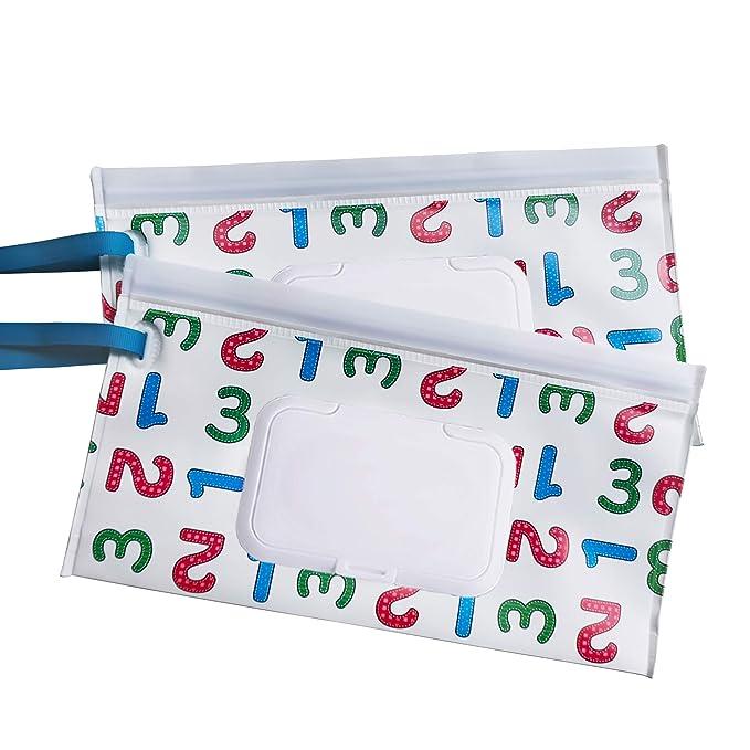WT-DDJJK Storage Holder,Wet Wipes Storage Box Flip Cover Dustproof Baby Wet Wipe Dispenser with Stickers