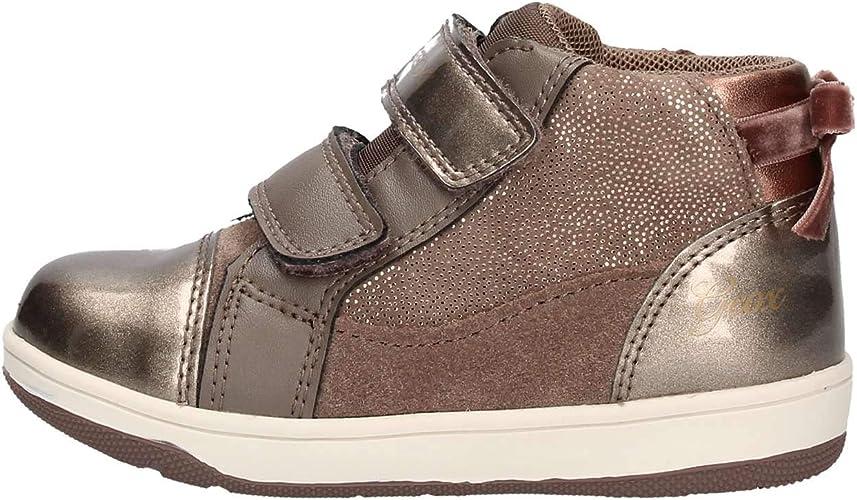 Religioso Emoción Judías verdes  Geox Baby New Flick Girl B Low-Top Sneakers, Grey (Smoke Grey C9006), 7.5  UK Child: Amazon.co.uk: Shoes & Bags
