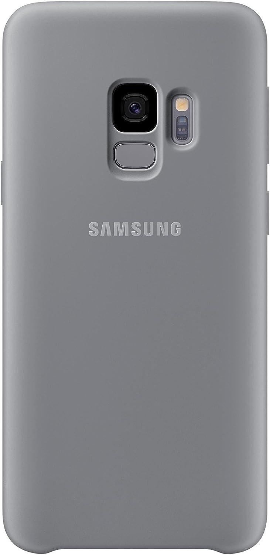Samsung Silicone Cover - Funda para Samsung Galaxy S9, color gris: Amazon.es: Electrónica