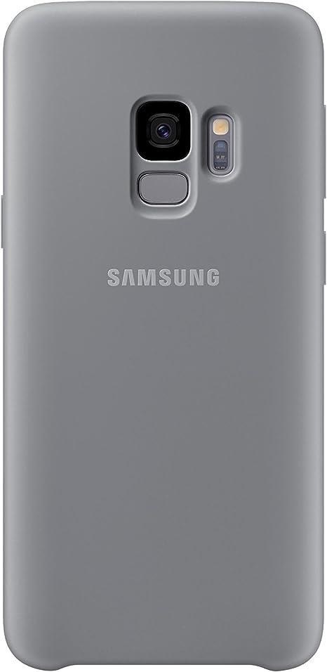 Samsung Silicone Cover Für Das Galaxay S9 Grau Elektronik