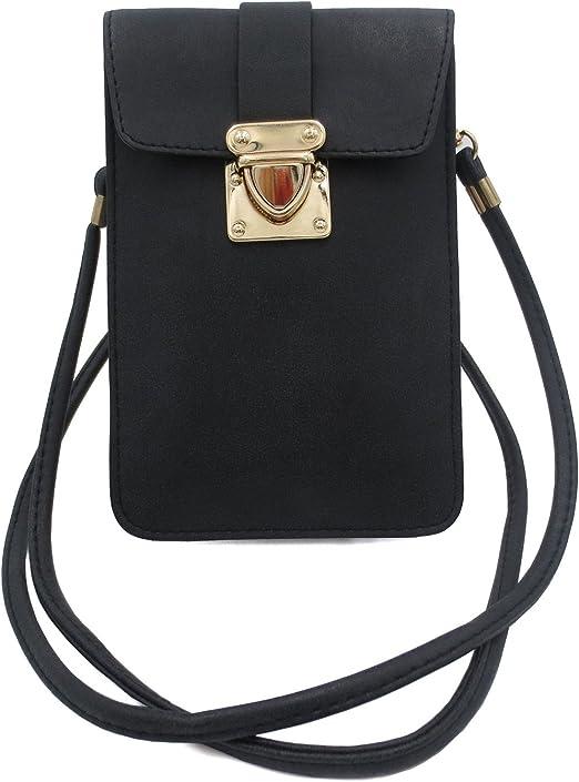 Men Small Cross-body Cell Phone Case Shoulder Bag Pouch Handbag Purse Wallet Hot