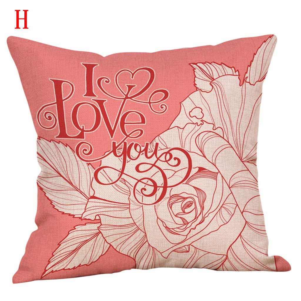 MOIKA romántico decoración cojín Throw Almohada Decorativo ...