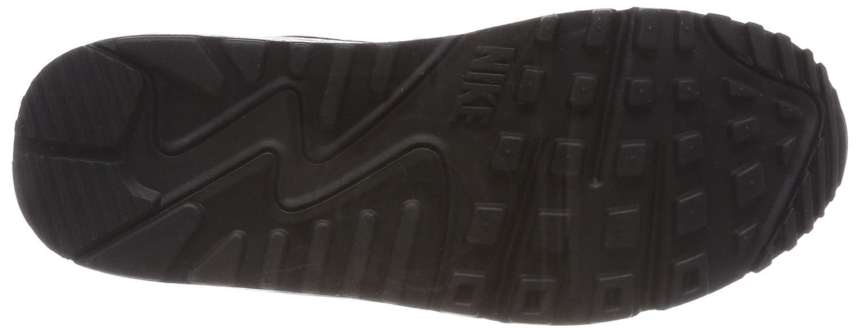 Nike Wmns Air Max 90 Damen Sneakers Weiß (Weiß/schwarz 131) 131) (Weiß/schwarz 30e3b5