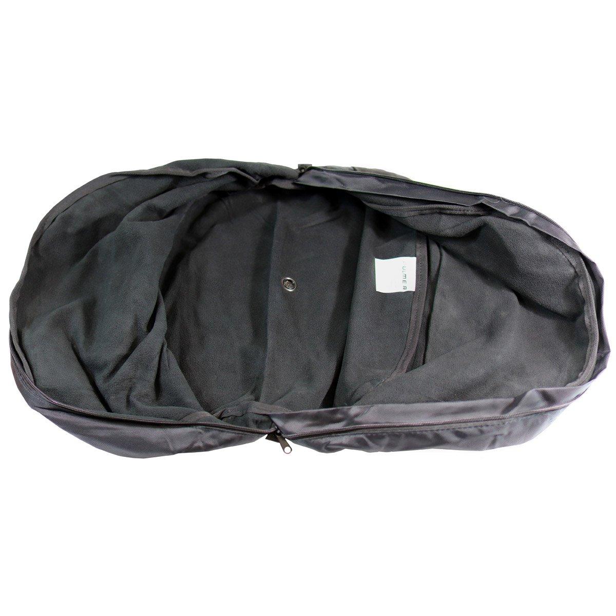 Fulmer AF-HELBAG05, Helmet Bag -Fleece Lining - Black by Fulmer (Image #3)