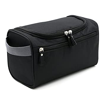 Image Unavailable. Image not available for. Colour  IGNPION Men s Hanging  Travel Toiletry Wash Bag (Black) b84c63fe51