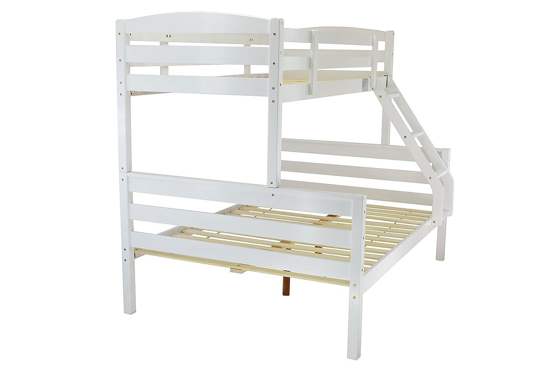 Dreifacher Sleeper Etagenbett in weiß