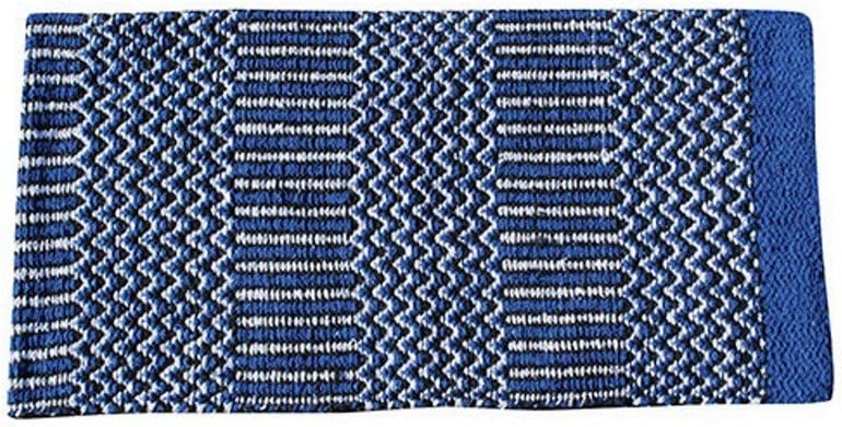 Professionals Choice PC Double Weaver Navajo Saddle Blanket Royal
