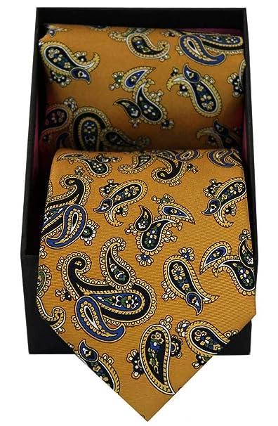 David Van Hagen - Pañuelo para hombre, diseño de cachemira, color ...