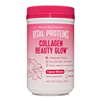 Vital Proteins Collagen Beauty Glow Tropical Hibiscus 10.8 oz 305g