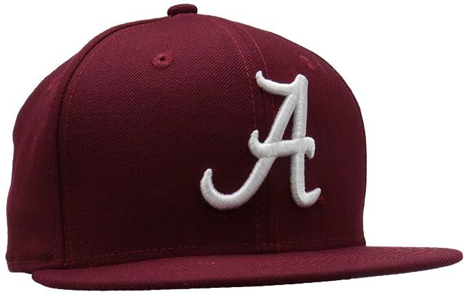 newest collection a18cb efe4c NCAA Alabama Crimson Tide College 59Fifty, Crimson , 7