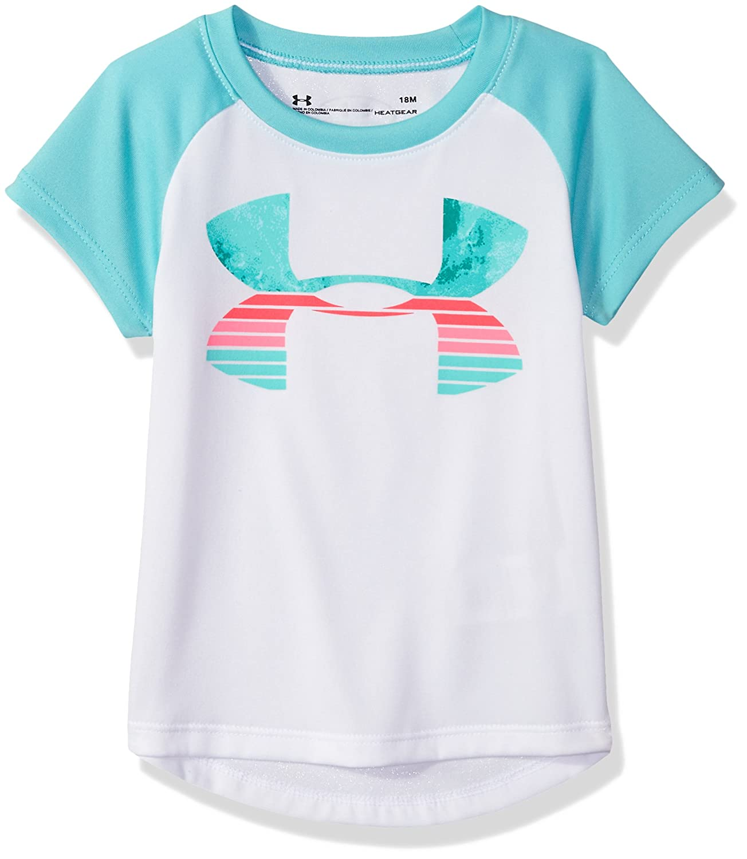 Under Armour Girls Raglan Ss Tee Shirt