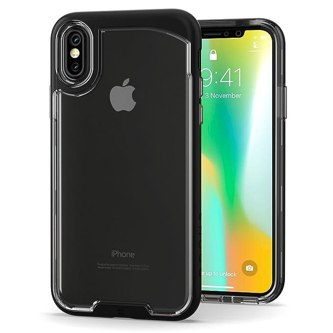1 opinioni per Cover iPhone X, Snugg Apple iPhone X Custodia Case [Fondello Trasparente] TPU