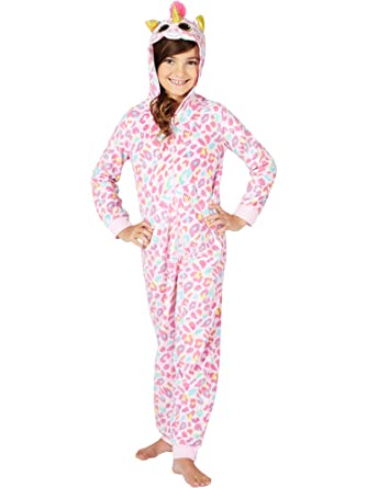 2fee5f16198a Amazon.com  TY Beanie Boo Fantasia Unicorn One Piece Hooded Onesie ...