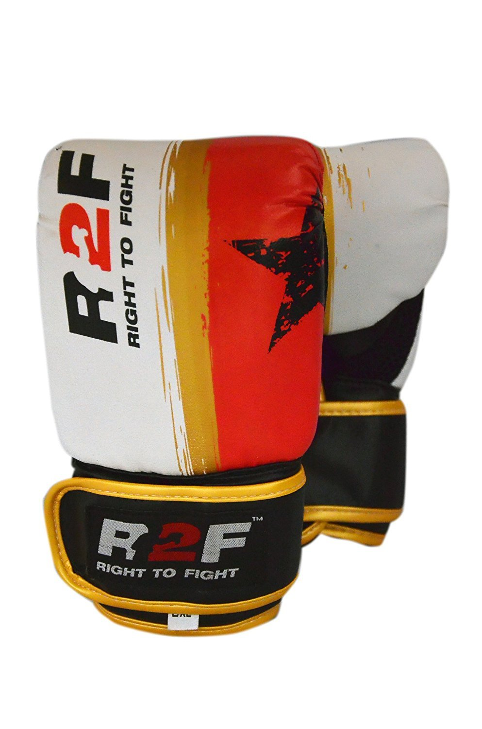 R2F Sports Muay Thai MMA Training Sparring Punching Red Viper Bag Mitts