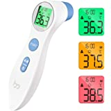Femometer Forehead Thermometer, Non Touch Digital Medical Thermometer for Adult and Kids, Professional Infrared Temporal Feve
