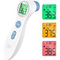 Termómetro de Frente, Femometer Médico Termómetros, Medir de Forma Instantánea y Precisa la con Pantalla Digital para…